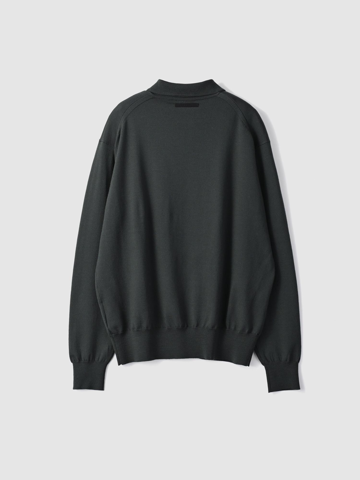 【予約】Smock knit shirtsのサムネイル7