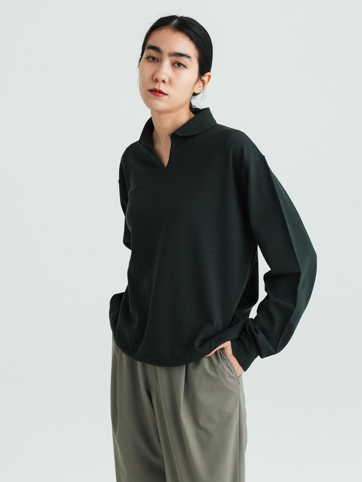 【予約】Smock knit shirtsのサムネイル4
