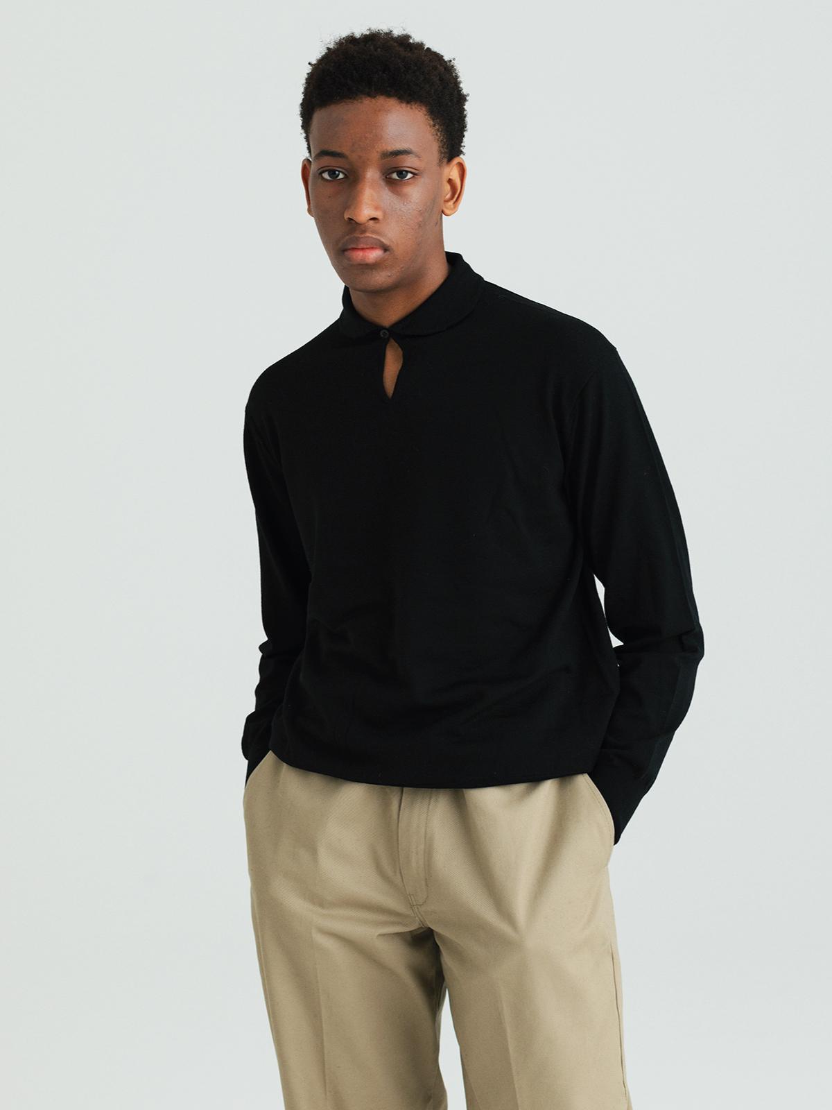 【予約】Smock knit shirtsのサムネイル6