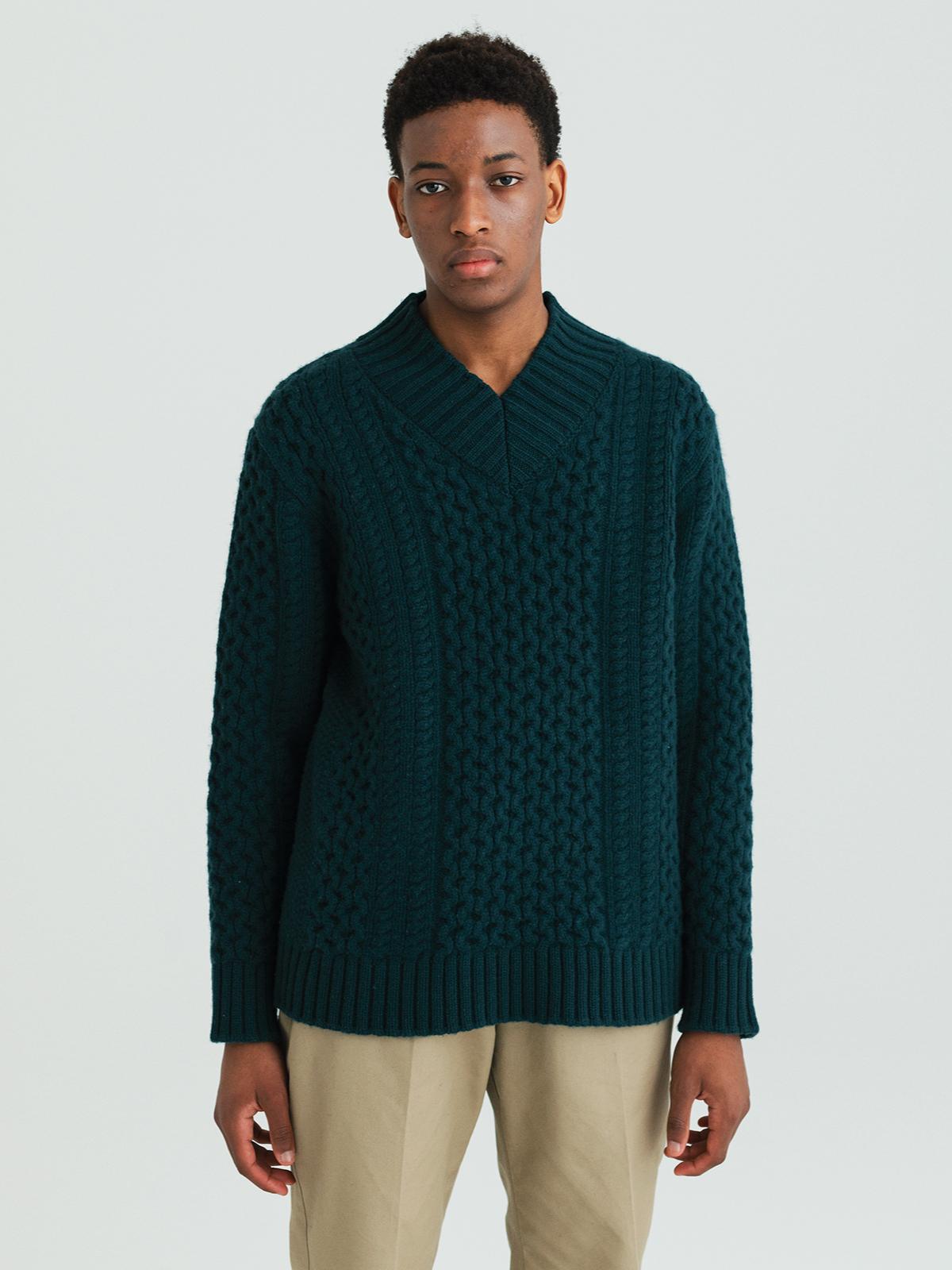 【予約】Fisherman's sweaterのサムネイル8