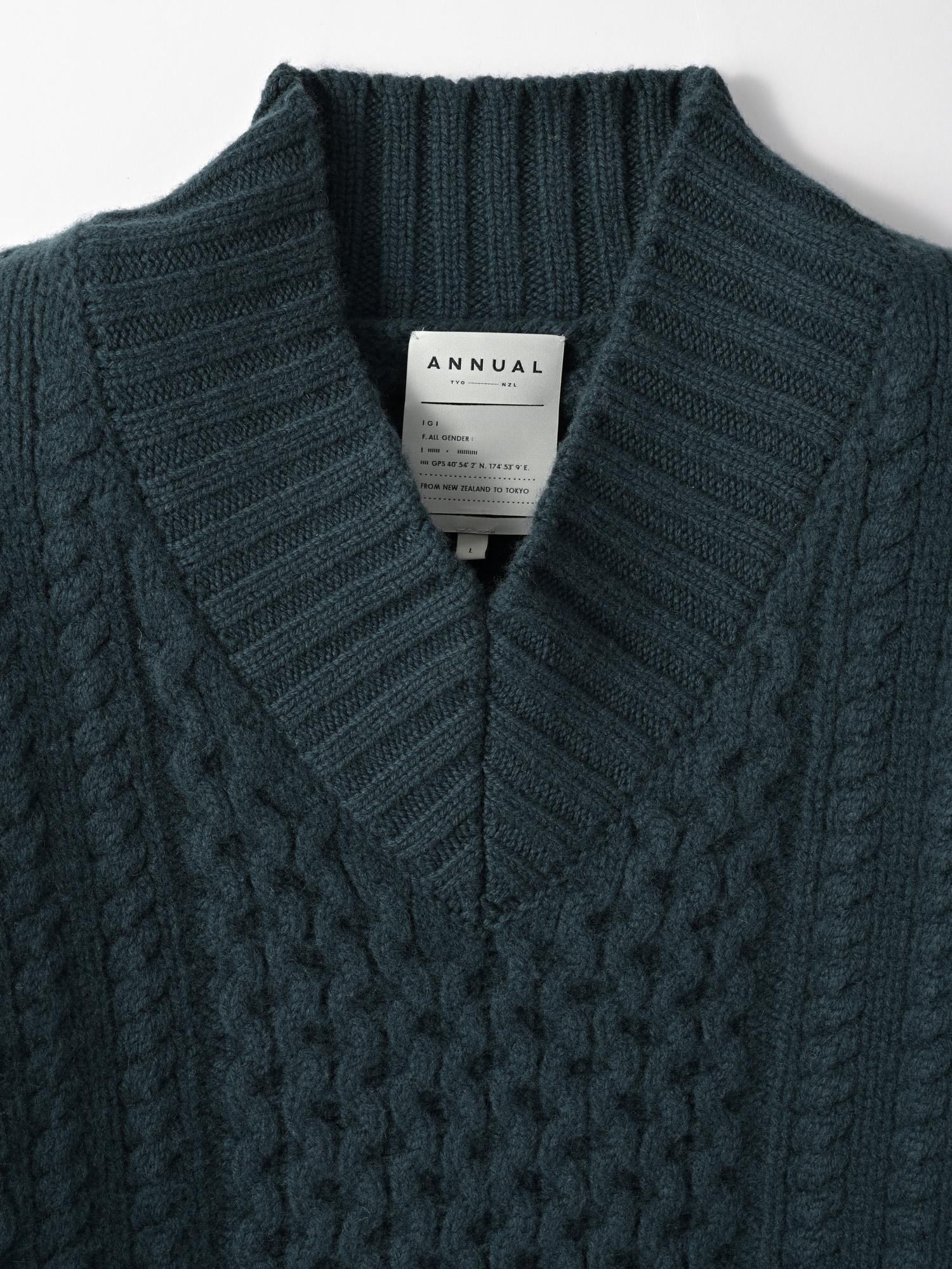 【予約】Fisherman's sweaterのサムネイル10