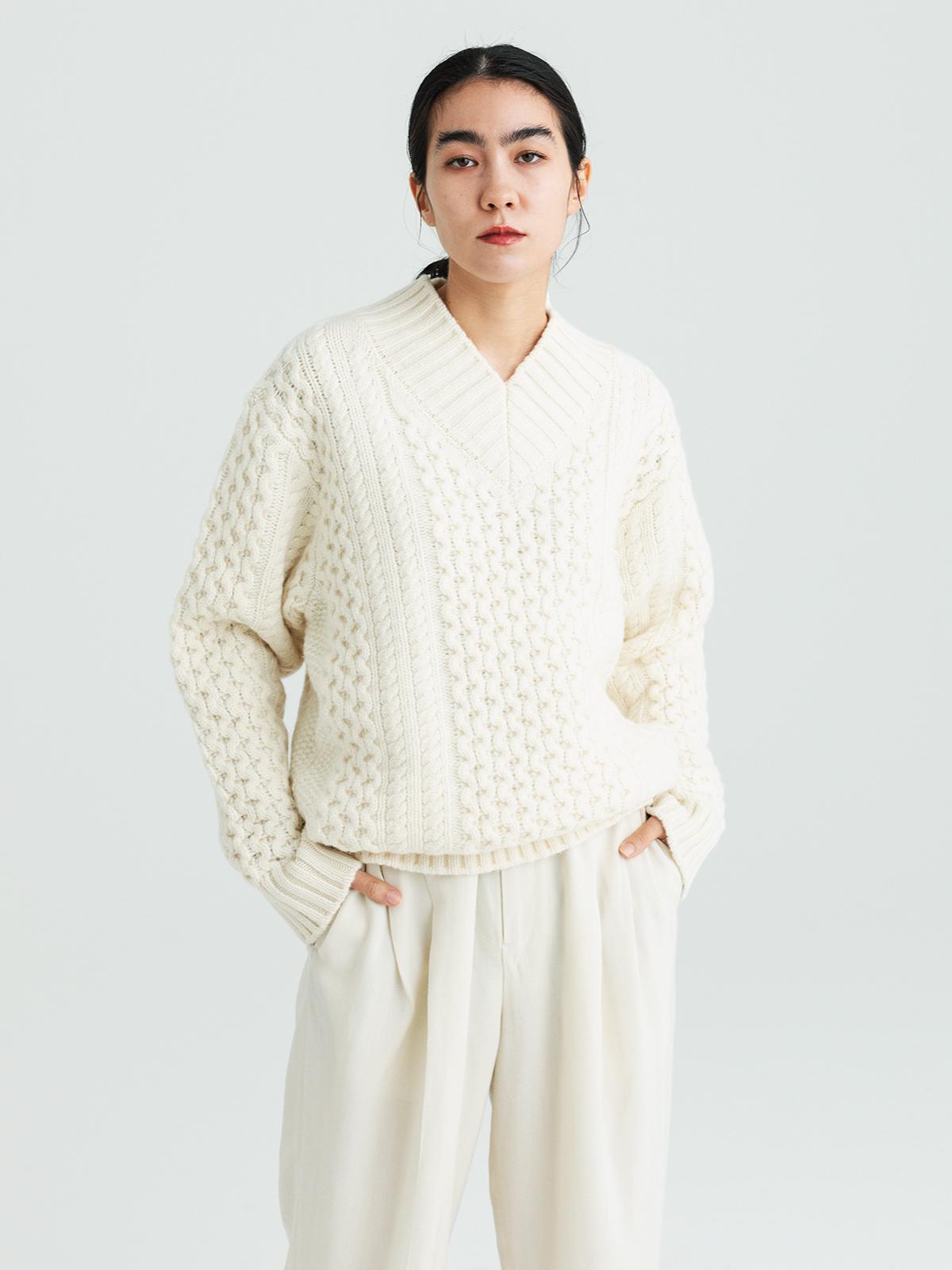 【予約】Fisherman's sweaterのサムネイル4