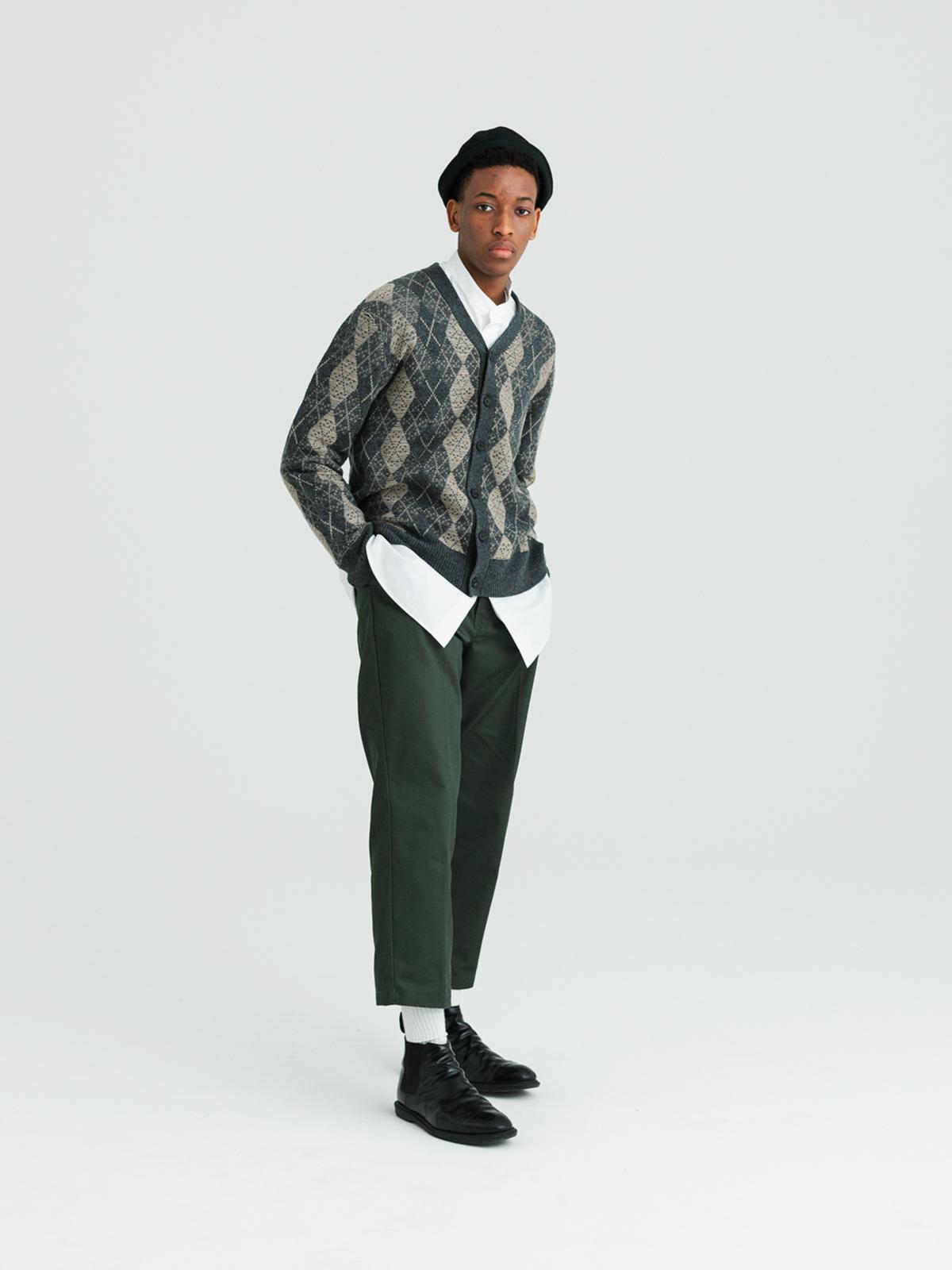 【予約】Argyle cardiganのサムネイル4